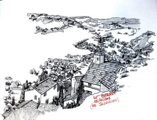 Les Silencieuses au Château du BEAUCET (VAUCLUSE)