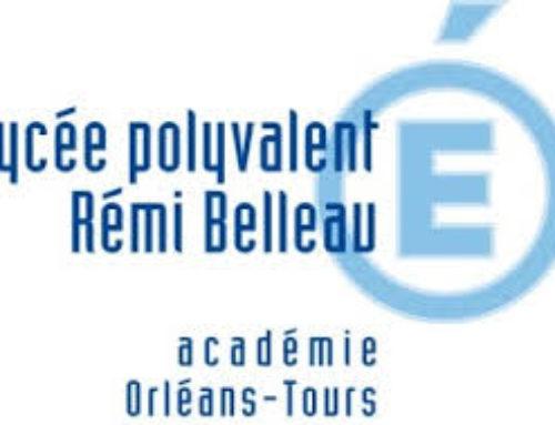 Le Petit Traité du Plaisir au Lycée Rémi Belleau (NOGENT LE ROTROU).